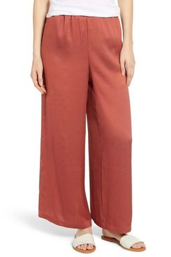 LOU & GREY Fluid Wide Leg Pants