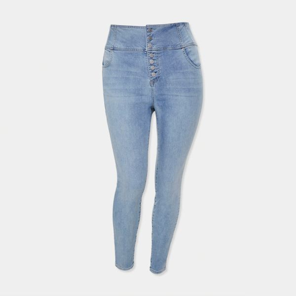 Forever 21 Plus Size High-Rise Jeans
