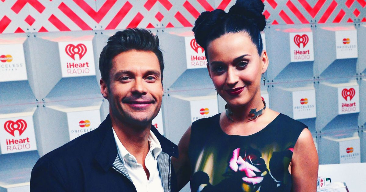 Ryan Seacrest Gets Caught Making Creepy Comments to Katy Perry on Air