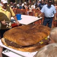 Unbelievably American Festival Features a 200-Pound Burger and 'Ketchup Slide'