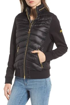 International Grandstand Hybrid Quilted Jacket