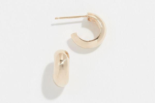 Zoe Chicco 14k Gold Huggie Hoop Earrings