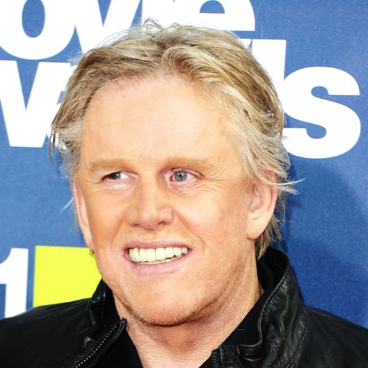 Actor Gary Busey arrives at the 2011 MTV Movie Awards