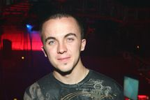 LAS VEGAS - MARCH 22:  Actor/race car driver Frankie Muniz attends IRL driver Marco Andretti's 21st birthday party at the Rain Nightclub inside the Palms Casino Resort early March 22, 2008 in Las Vegas, Nevada. Andretti turned 21 on March 13.  (Photo by Ethan Miller/Getty Images)