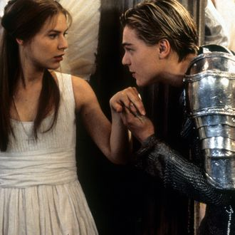 Claire Danes And Leonardo DiCaprio In 'Romeo + Juliet