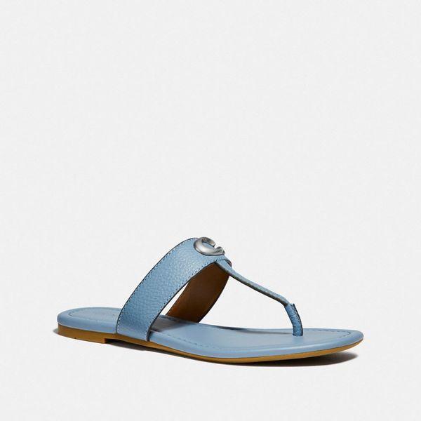 womens coach jessie sandal coach-summer-sale