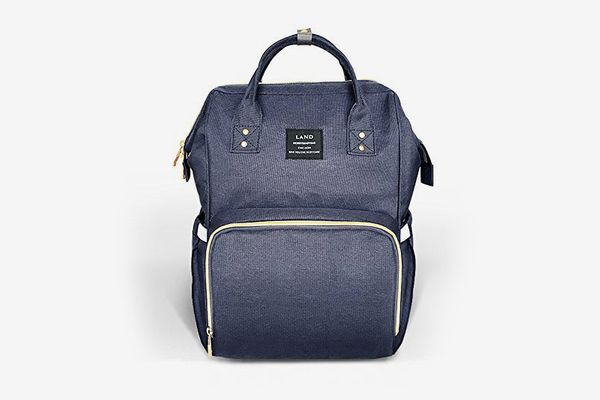 Land Diaper Bag in Blue