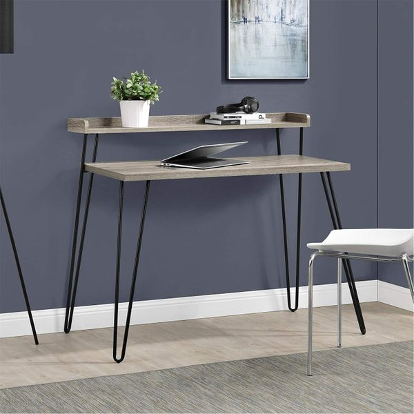 Ameriwood Home Haven Retro Desk with Riser