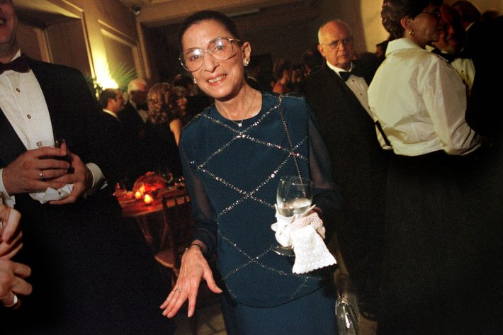 Ruth Bader Ginsburg in 2000.