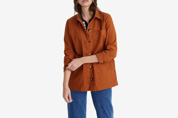 Madewell Becker Oversized Chore Coat