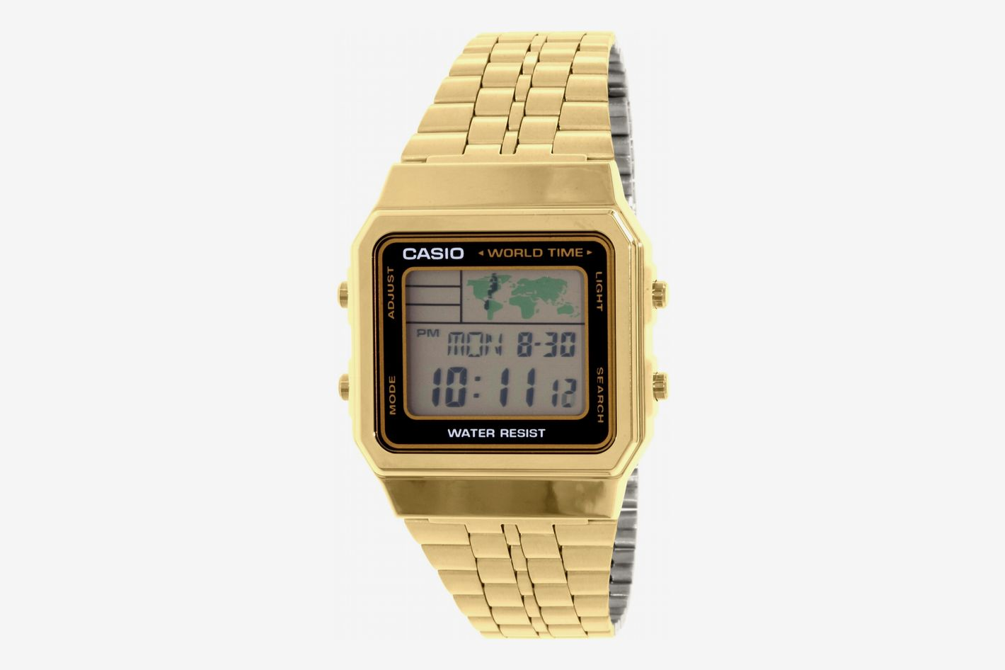 Casio Men's A500WGA-1 Gold Metal Quartz Fashion Watch