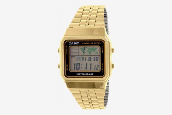 Casio Men's A500WGA-1 Gold Metal Quartz Fashion Watch