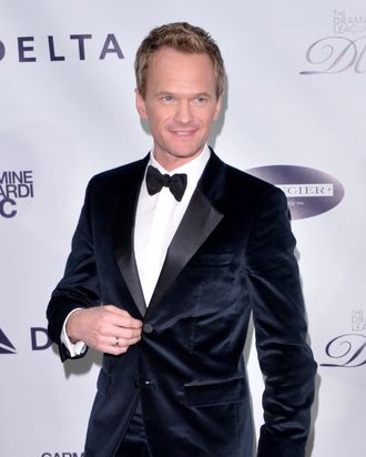 NEW YORK, NY - FEBRUARY 03: Honoree Neil Patrick Harris attends The Drama League's 30th Annual Musical Celebration of Broadway honoring Neil Patrick Harris at The Pierre Hotel on February 3, 2014 in New York City. (Photo by Andrew H. Walker/Getty Images)