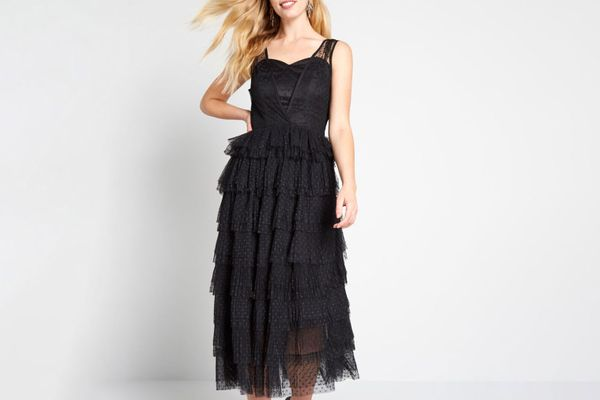 Collectif Truth be Tulle-d Midi Dress