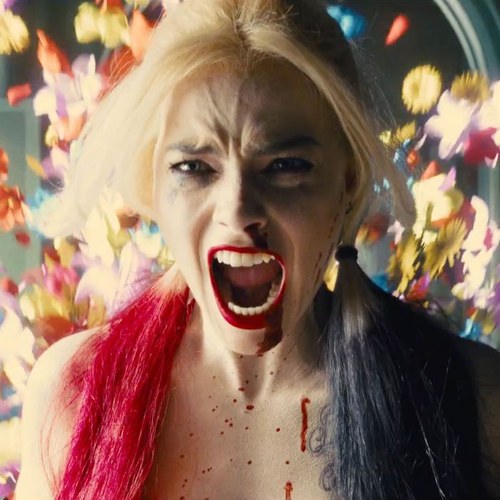 Margot Robbie in The Suicide Squad.