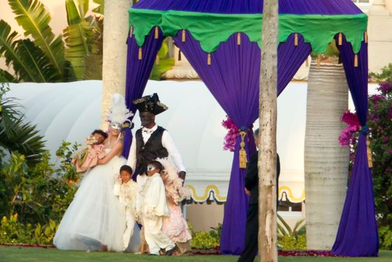 heidi klum and seal wedding vow renewal. Heidi Klum and Seal Were