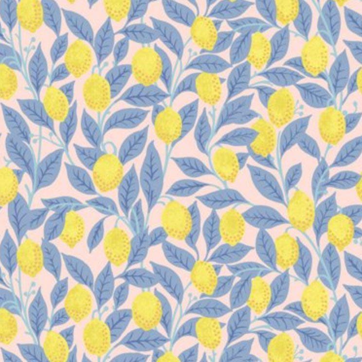Lemons Wallpaper, Pink Lemonade