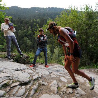 FRANCE-MOUNTAIN-RACE-TRAIL