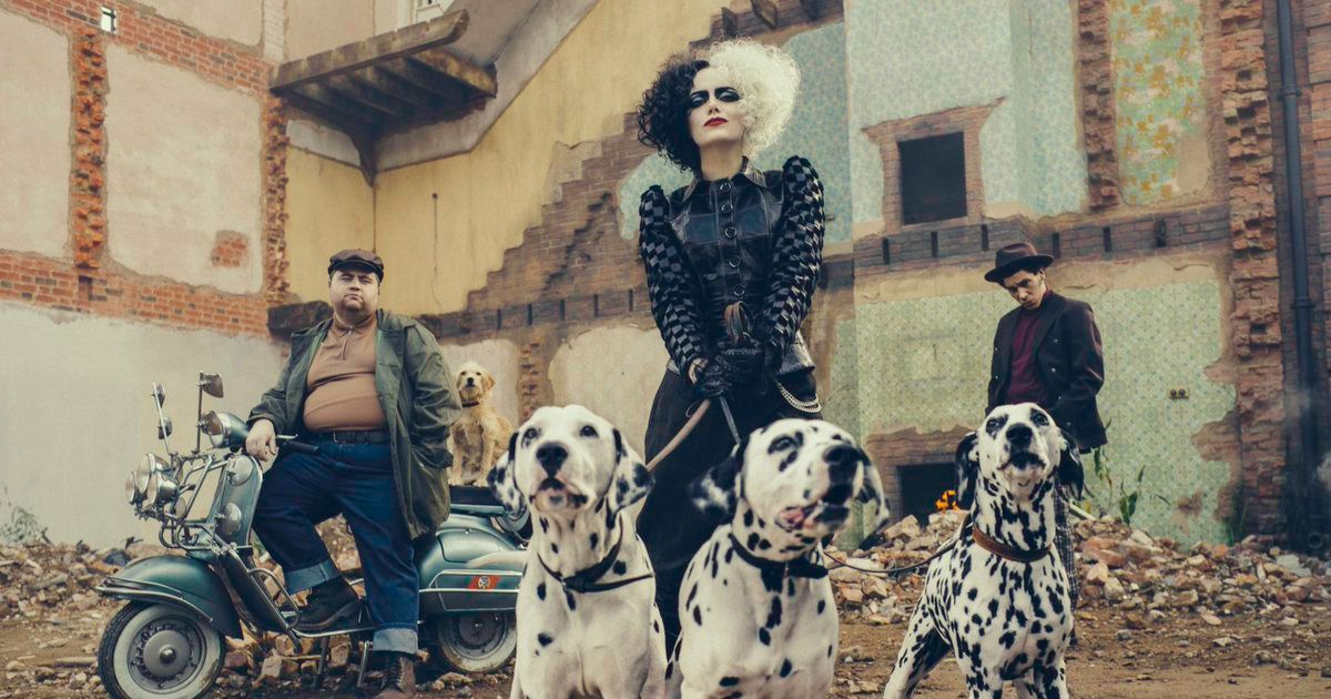 Woof: Here's Your First Look At Emma Stone's Cruella de Vil