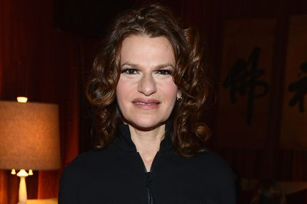 Sandra Bernhard  attends the Mercedes-Benz Start Lounge at Lincoln Center on February 10, 2013 in New York City.