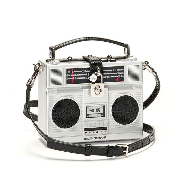 6edc1b67981b A Dolce   Gabbana Bag Shaped Like an  80s Stereo