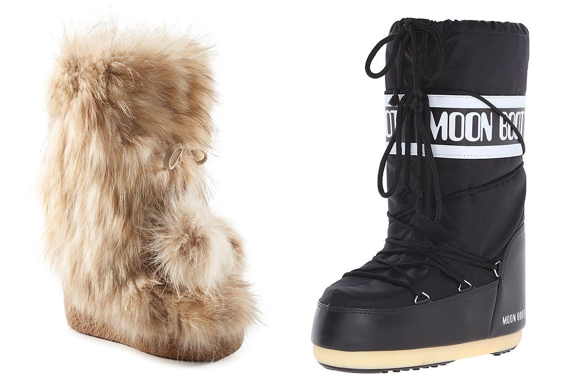 Moon boots, mia fur boots