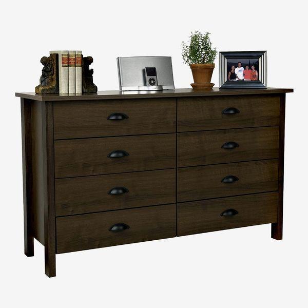 8-Drawer Nouvelle Dresser Walnut