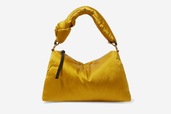 Dries Van Noten Padded Satin Tote