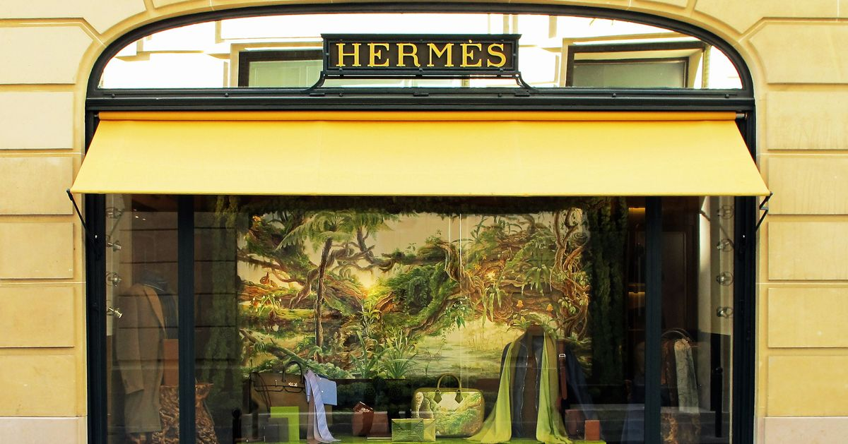 Hermes 24, Rue Du Faubourg St Honore Historical Shop