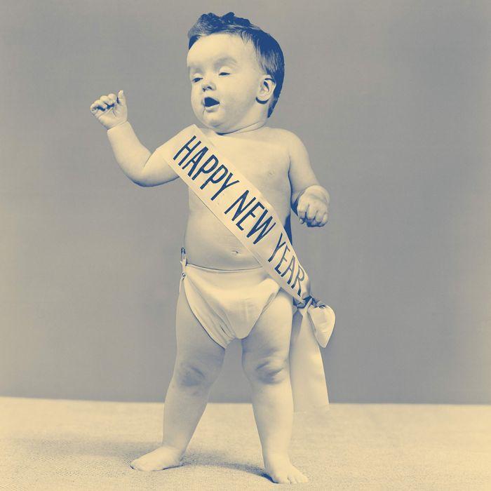 News Years Baby