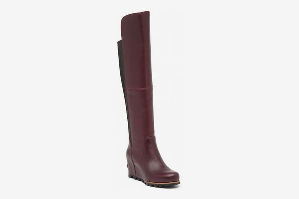 Sorel Fiona Over-the-Knee Lux Waterproof Leather Boot