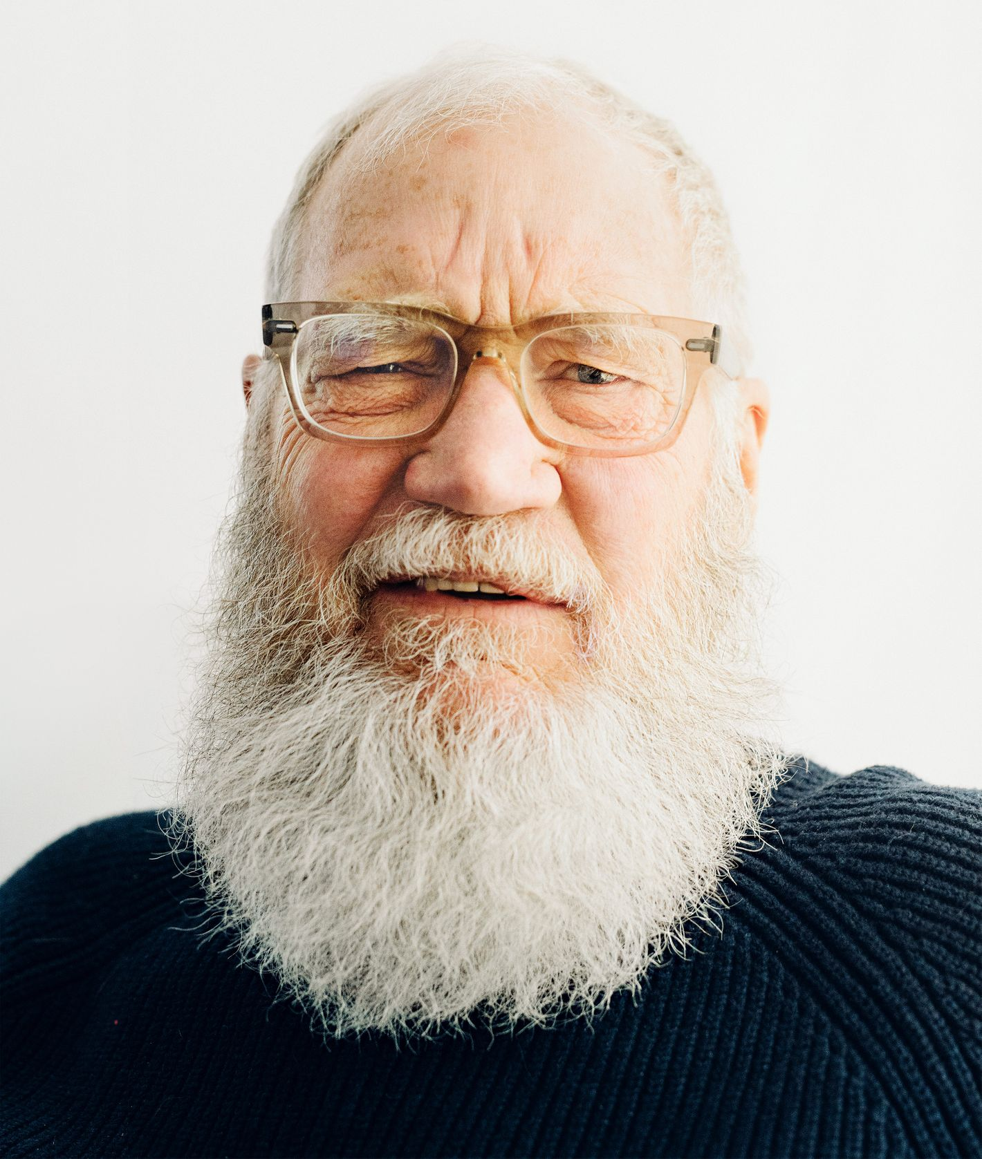 Retired David Letterman, not actually Sasquatch.