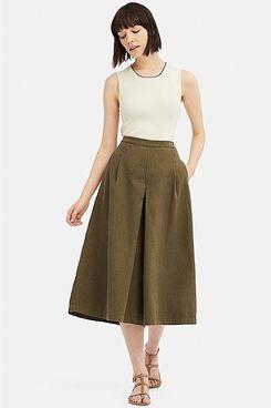 Uniqlo x Ines de la Fressange Linen Cotton Culottes