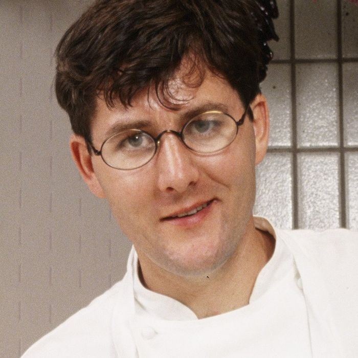 Just a young Charlie Trotter being a boss.