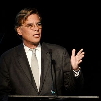 Writer Aaron Sorkin speaks at