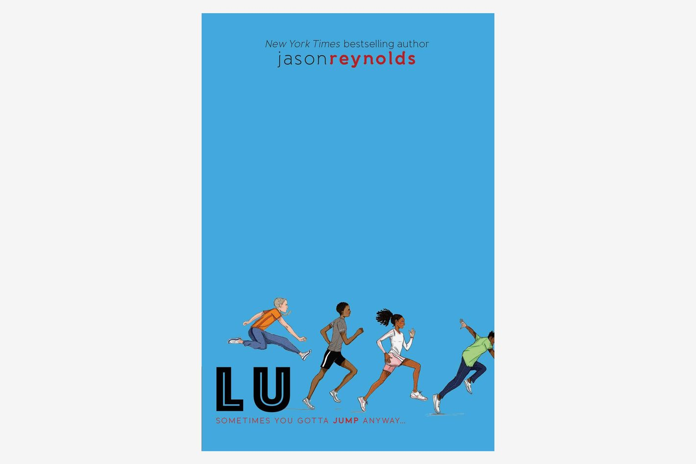 Lu (Track Series), by Jason Reynolds