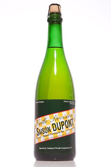 "Brasserie Dupont (Belgium)<br>$15 for 25 oz. <br><strong>Type:</strong> Saison<br><strong>Tasting notes:</strong> ""Traditionally brewed to serve to Belgian farm workers, this is the quintessential summer ale. Bone-dry and grassy, with notes of black pepper and lemon peel."" <br>—Erik Olsen, manager, Brouwerij Lane<br> <br>"