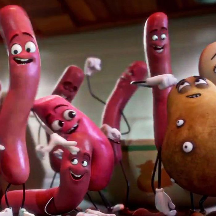 Sausage Party And Bad Moms Are Having A Big Time At The