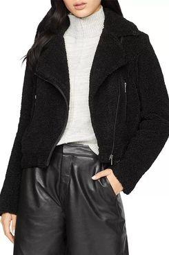 Sanctuary Classic Faux Fur Moto Jacket