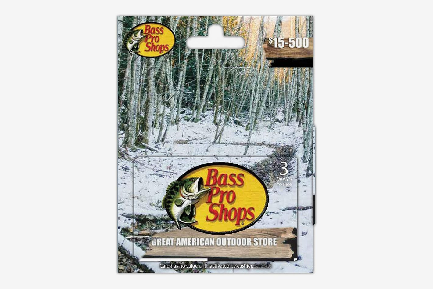 Bass Pro Shops Holiday Gift Card
