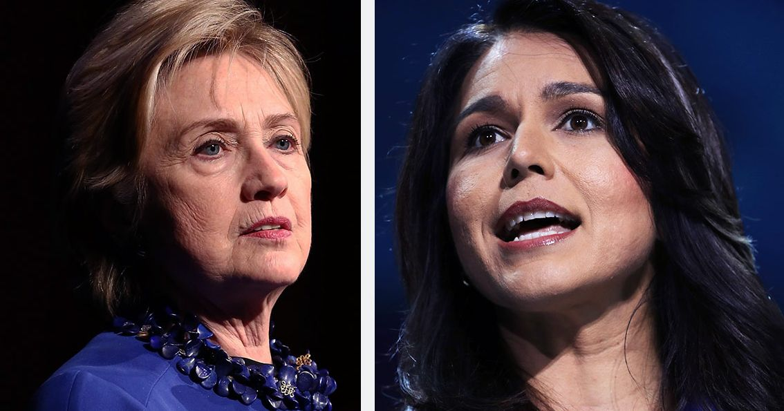nymag.com - Ed Kilgore - Gabbard Demands Clinton Enter 2020 Race, Calls Her 'Queen of Warmongers'