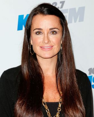 TV personality Kyle Richards attends KIIS FM's 2012 Jingle Ball at Nokia Theatre L.A. Live on December 3, 2012 in Los Angeles, California.