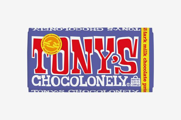 Tony's Chocolonely Dark Chocolate Pretzel Bar
