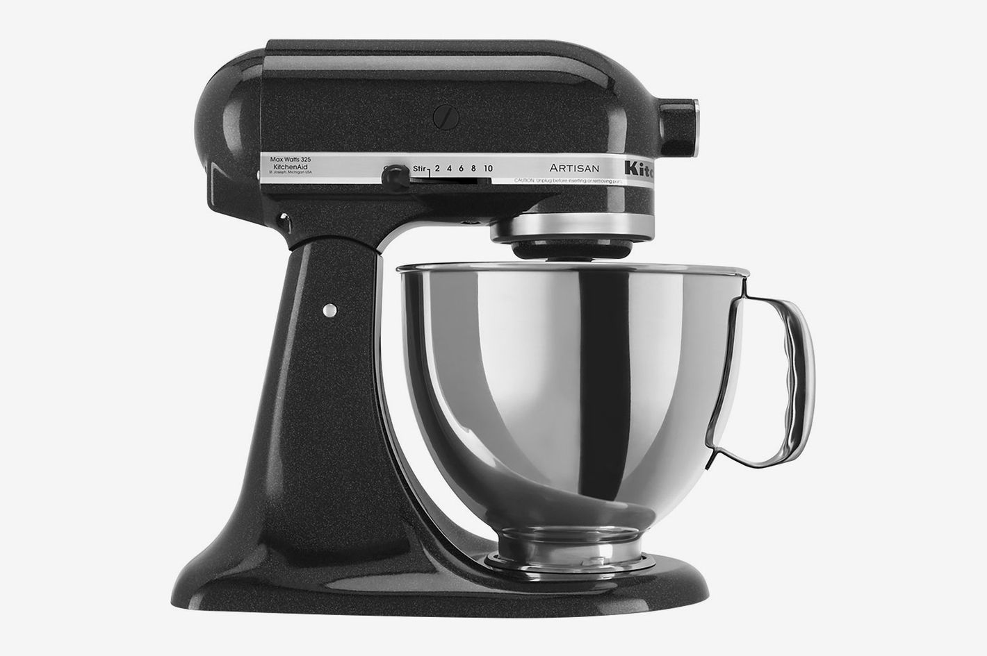 KitchenAid Artisan Series 5 Quart Tilt-Head Stand Mixer, Caviar