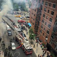 A Fire Broke Out at the TGI Fridays in Union Square