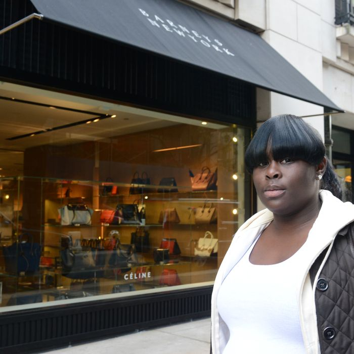 One of the two plaintiffs in the Barneys racial profiling case.