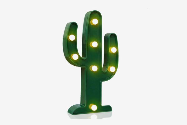 Novelty Place Cactus Marquee Sign Lights