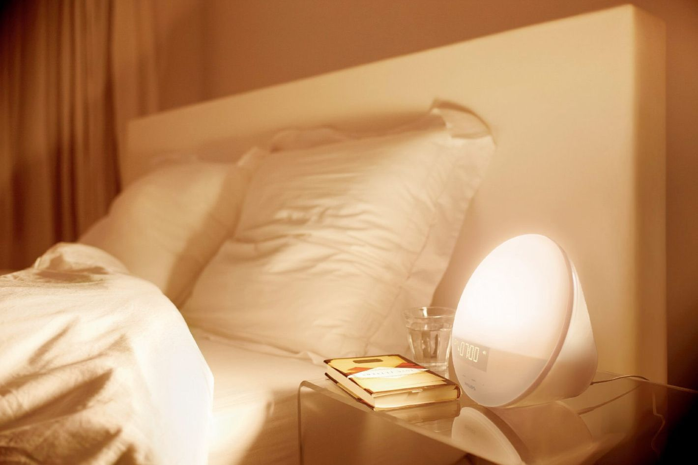 Philips Wake-Up Light With Colored Sunrise Simulation