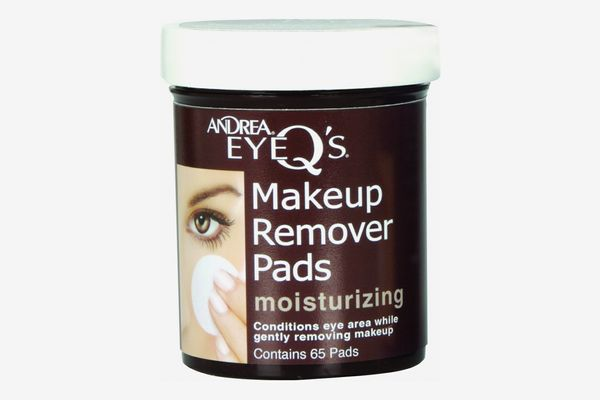 Andrea Eye Q's Moisturizing Eye Makeup Remover Pads, 65-Count (Pack of 3)