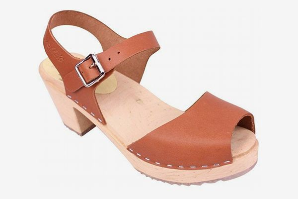 Lotta From Stockholm Open Highwood Clogs in Tan
